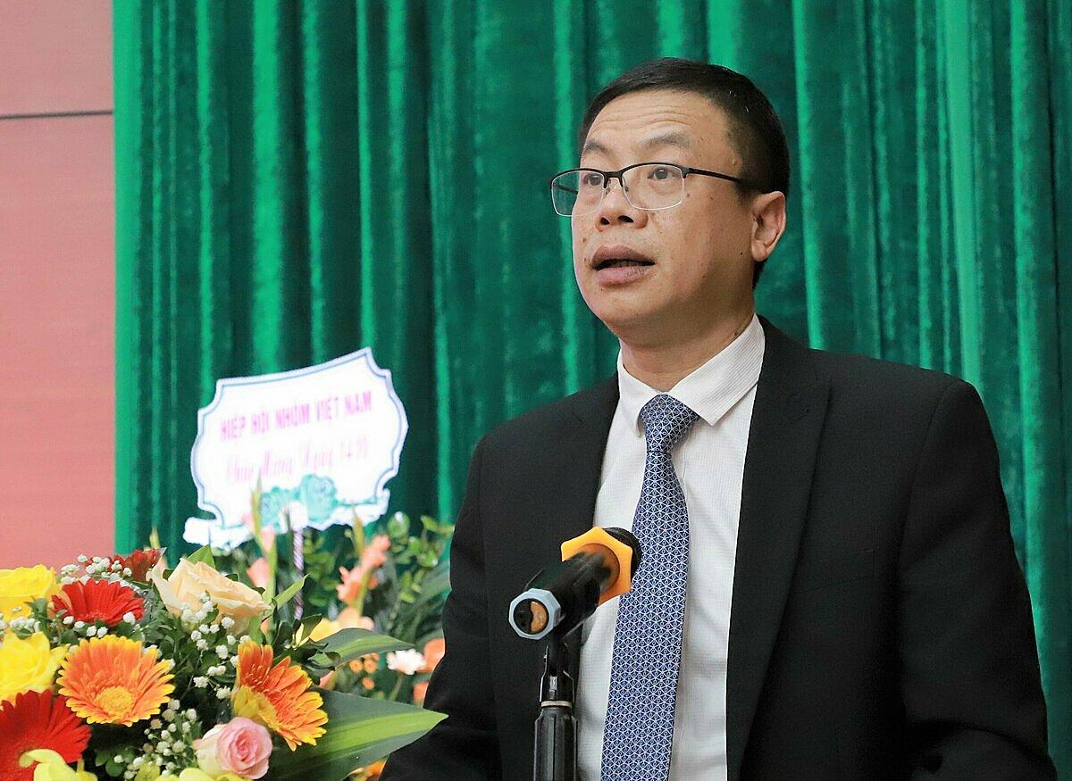 Thứ trưởng Lê Xuân Định phát biểu khai mạc sự kiện. Ảnh: HH