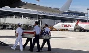 Việt Nam bàn giao hài cốt binh sĩ cho Mỹ