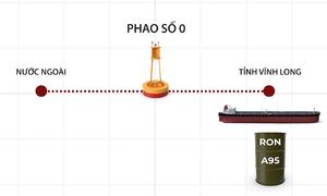 Đường dây sản xuất xăng giả hoạt động thế nào