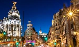 Không gian xanh xung quanh thành phố Madrid