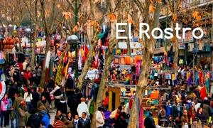 Đi chợ trời ở Madrid